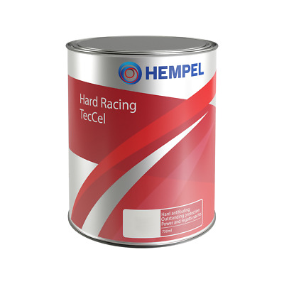 (46,53€/l) Hempel Hard Racing TecCel Antifouling 750 ml 0,75l | 6 Farben