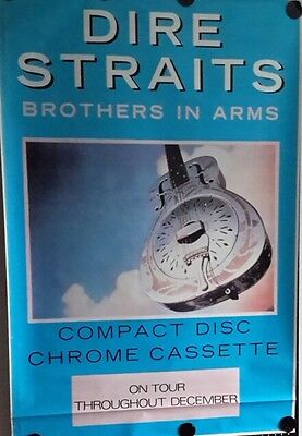 DireStraits-Brothers in Arms.Orig.GiantPromoPoster FREE INT SHIPPING 40x60