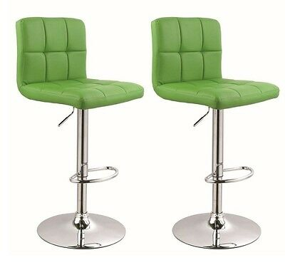 !2er Set! Barhocker in GRÜN / GREEN, Barstuhl Tabouret de Bar Stool +296+