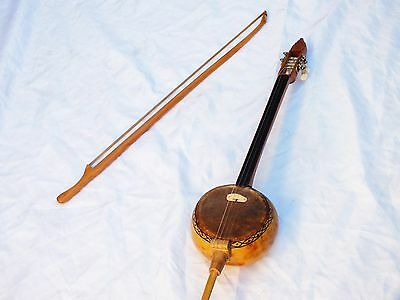 FERD : TURKISH STRING  GOURD  KABAK KEMANE w/ A BOW and BAG !  !!!!!!!!!!!!!!