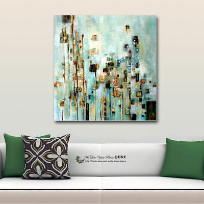 Abstract Stretched Canvas Print Framed Wall Art Home Vintage Decor Painting Gift
