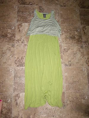 Chelsea And Theodore Maxi Dress Womens Sleeveless Swing Top Stretch