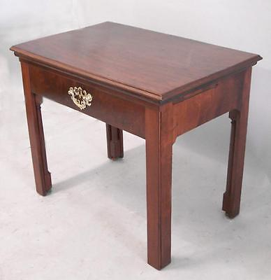 Early English mahogany architects desk c1790