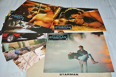 STARMAN ! john carpenter jeu 12 photos cinema lobby cards fantastique