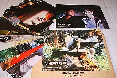 SIMETIERRE ! stephen king jeu 12 photos cinema lobby cards fantastique epouvante