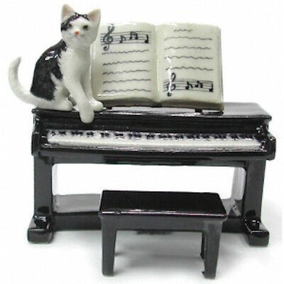 R244  - Northern Rose - Cat playing the piano
