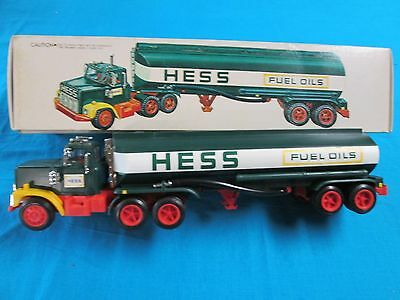 1977 Hess Truck in Box with Card and Inserts PRICE  CUT