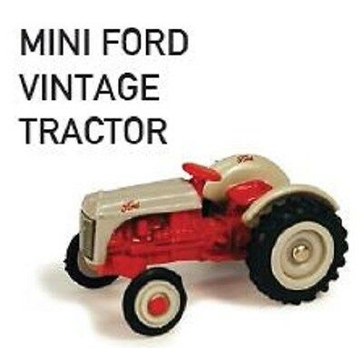 MINI FORD TOY REPLICA VINTAGE TRACTOR SCALE 1:64 Part# ERT35685DS