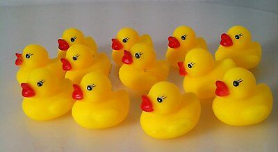 Mini Rubber Ducks Duckie Baby Shower Birthday Party Favors HY