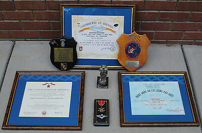 Large Special Forces Grouping, Plaques, Medals, Certificates, Documents,