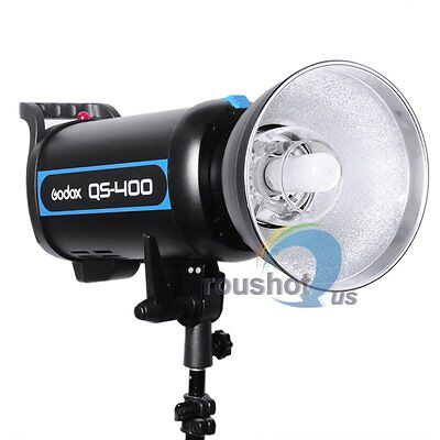Godox QS-400 Speed Studio Strobe Flash Light Lighting Lamp Head 220V 400W 400WS