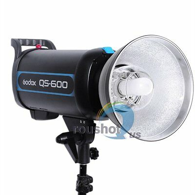 Godox QS-600 Speed Studio Strobe Flash Light Lighting Lamp Head 220V 600W 600WS