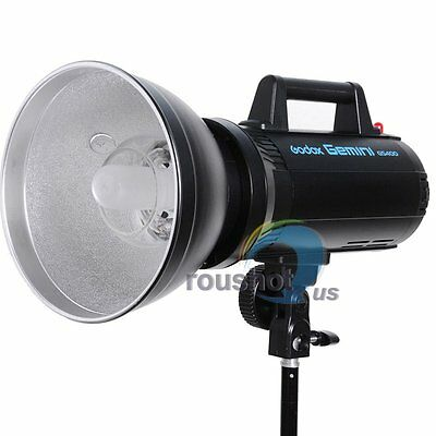 Godox Gemini GS-400 Speed Studio Strobe Flash Light Lamp Head 220V 400W 400WS