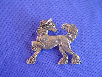 Chinese Crested Hairless Pin Pewter #22L Toy Dog Jewelry by Cindy A. Conter
