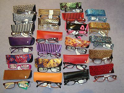 +1.5 Ladies Reading Glasses Readers Specs With Case Various Designs