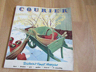 Vintage COURIER Apr 60 / 1960 Art Satire Fact Fiction & Travel Magazine