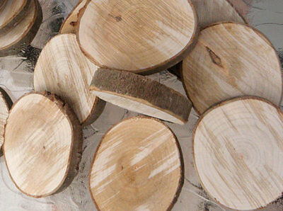 5 or 10pcs Ash Wood Tree Slice Wedding Centrepiece Rustic Wedding