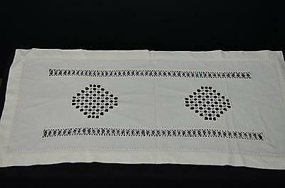 Antique table runner cross stitch