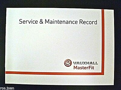 Vauxhall Service Book Astra Convertible Bertone Coupe Twintop Brand New Genuine*