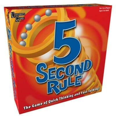 5 Second Rule Board Game fast-paced family game for ages 8 & up