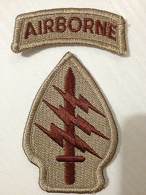 United States US Airborne Special Forces Embroidered Patch - US164
