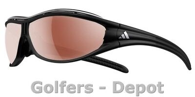 Adidas Brille Evil Eye Pro a126 L matt black chrom 6082