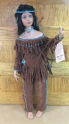 Porcelain Doll-Spirit of the Sky, Paradise Galleries, Native American