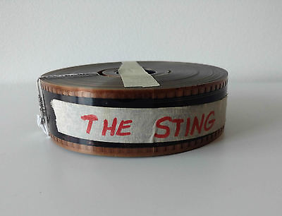 The Sting 35mm Movie Film Trailer VGC Australian Seller + Fast Shipping