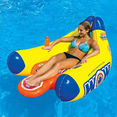 WOW Big Banana Portatable Floating Lounge Chair