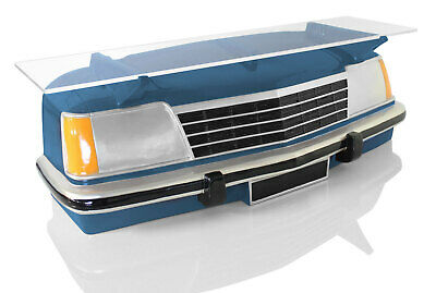 VB Commodore 3D Wall Mounted Resin Car Shelf Blue Hand Painted Man Cave
