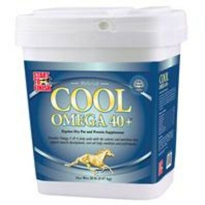 Manna Pro-Msc Cool Omega 40+ 20 Pound - 0 78274 Horse Feed Supplements New