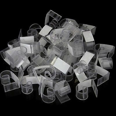 50pcs Plastic  Table Skirt Skirting Clips 3-4.5cm Wedding Party HY