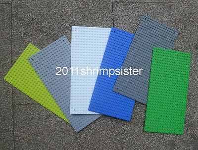 6pc Compatible for Lego display Brick figures building Base Plate 16x32 Dots