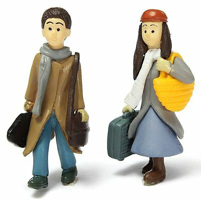 Miniature Boy and Girl Ornaments Potted Craft DIY Garden Decoration HY
