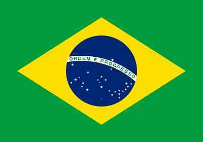 BRAZIL BRAZILIAN NATIONAL COUNTRY LARGE 5 x 3FT FANS PELE SUPPORTERS FLAG EYELET
