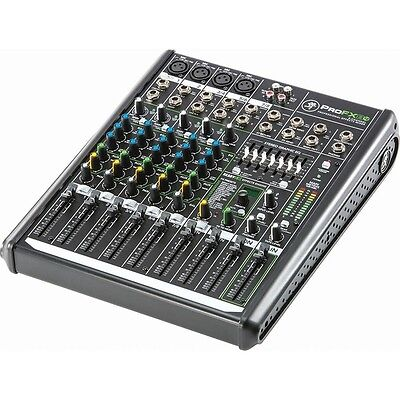 Mackie ProFX8v2 Professional 8 Channel USB Studio Live Sound Mixer / Mixing Desk