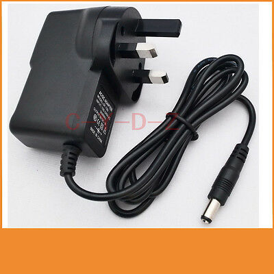 12V 300mA 0.3A Switching Power Supply adapter AC 100V-240V  DC 5.5mm x 2.1mm UK
