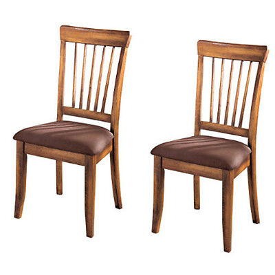 Ashley D199-01 Berringer Dining UPH Side Chair (2/CN) Rustic Brown