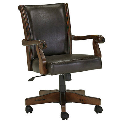 AshleyH669-01A Alymere Home Office Swivel Desk Chair Rustic Brown