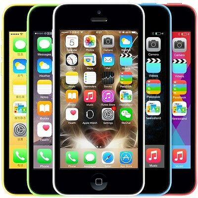 new overstock apple iphone 5c 32gb green verizon • cad