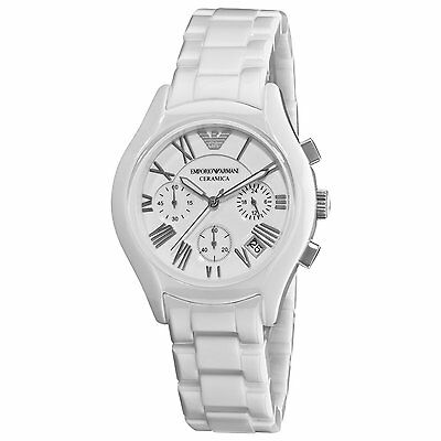 Emporio Armani® watch AR1404 Ladies White Ceramica