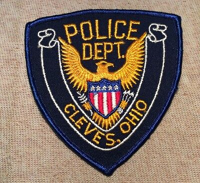 OH Cleves Ohio Police Patch (New)