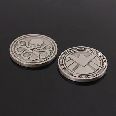 The Avengers Agents of Shield S.H.I.E.L.D. Badge Commemorative Coins -US170