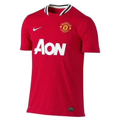 Nike maillot football Manchester United domicile neuf taille enfant