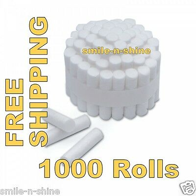 1000 Pcs Dental Disposable Cotton Rolls High quality