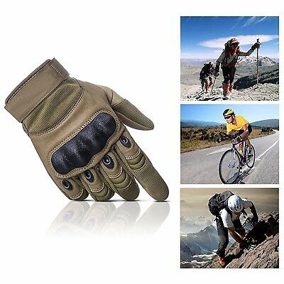New Men's Military Tactical Airsoft Shooting Hunting Full Finger Gloves S/M/L/XL