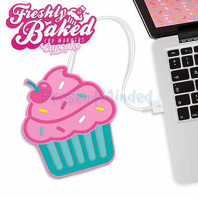 CUPCAKE USB Cup Warmer Tea Coffee Mug Stand Heater- Keep Your Drink Warm