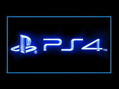 Play Station PS4 Display Decoration Led Light Sign B