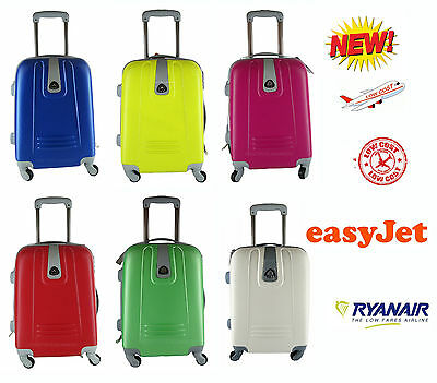 Trolley Bagaglio A Mano Ryanair Easyjet Valigia Cabina 4 Ruote Low Cost