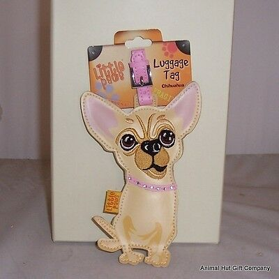 LITTLE PAWS Luggage Tag - Chihuahua